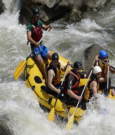rafting in Bulgaria, on Struma River