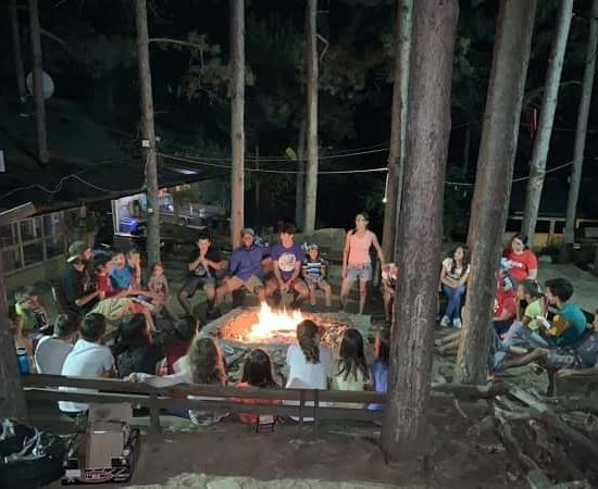 campfire and games