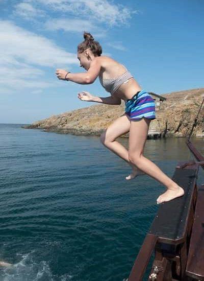 kids camp at Black sea