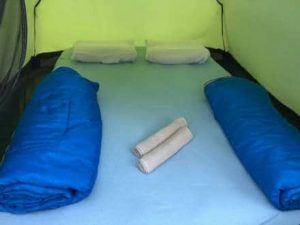 tent in rafting camp adventure net