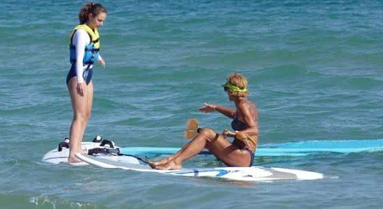 windsurf exercises for kids
