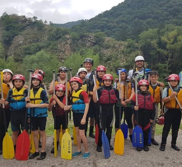 Kids Camps with rafting