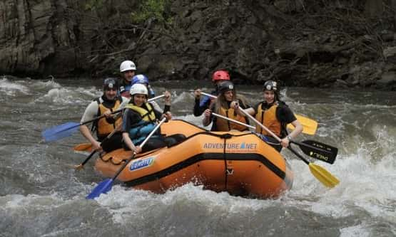Spring rafting in Bulgaria