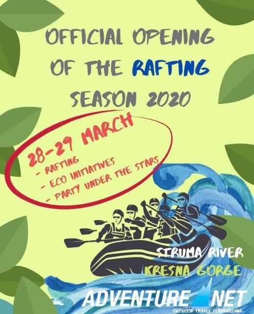 Rafting Adventure Season Opening 2020