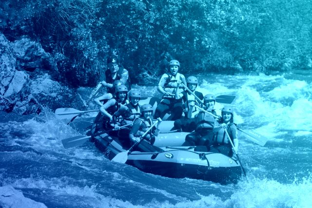 Rafting with Adventure Net on the river Struma